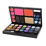 Joly Portable Combo Makeup Set Eyeshadow Foundation Eyebrow Blusher Lip Gloss Mirror Two Style for Your Choice (#2643)