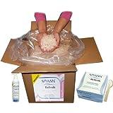 """Schuppenflechte (Psoriasis) und Neurodermitis-Behandlungsset: Gebrauchsfertige SIVASH-Heilerde (Soleschlick) 1 kg + Spatel + naturbelassenes rosa Meer-Badesalz 5 kg + Mineral Waschgel 250 mlvon """"SIVASH"""""""