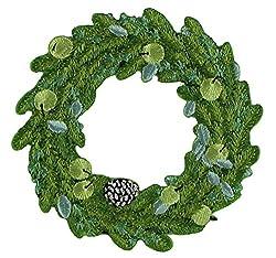 Application Christmas Door Wreath Patch