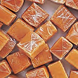 Caramel Squares Chewy Candy Bag, 1 Pound