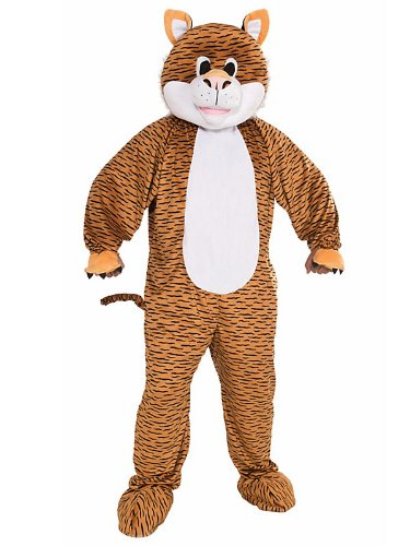 Tiger Mascot Promo Adult Costume Size Standard