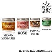 Royal Massage Set of 4 20oz Natural Sea Salt Mineral Bath Salts