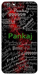 Pankaj (Lotus) Name & Sign Printed All over customize & Personalized!! Protective back cover for your Smart Phone : Apple iPhone 6