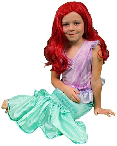 My Costume Wigs Ariel Dress and Wig Costume Set