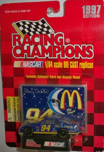 Racing Champions Nascar # 94 Mac Tonight w/ Card & Stand - 1