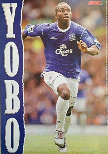 match-football-magazine-everton-joseph-yobo-chang-beer-efc