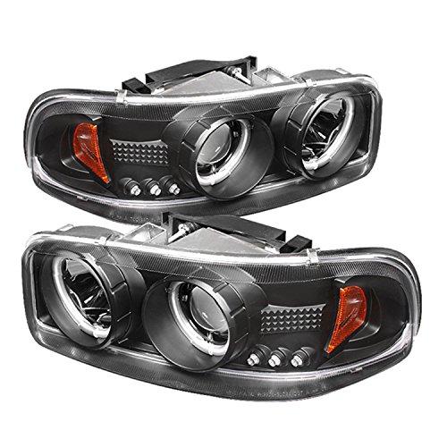 Spyder Auto GMC Sierra 1500/2500/3500, GMC Sierra Denali, GMC Yukon, Yukon Denali, Yukon XL Black CCFL Projector Headlight (2006 Denali Yukon Xl compare prices)