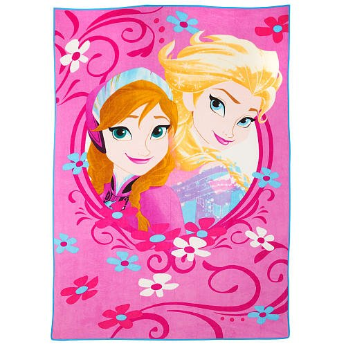 Disney Frozen Arendelle Royalty Blanket - 1