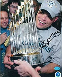 Ivan Rodriguez autographed 8x10 Photo (Florida Marlins) Image #1 2003 World Series...