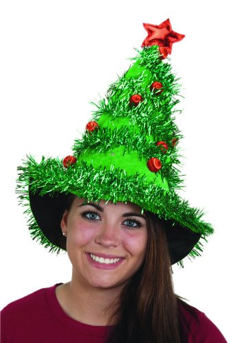 """Jacobson Hat Company Women's Light-Up Christmas Tree Hat"""