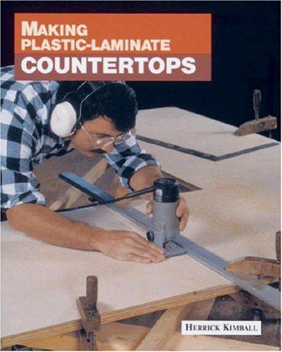 Plastic Laminate Countertops : Product Name: Making Plastic-Laminate Countertops