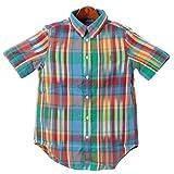 ポロ ラルフローレン ボーイズ モデル POLO RALPH LAUREN 半袖 チェックシャツ 323173781 男女兼用 [並行輸入品]