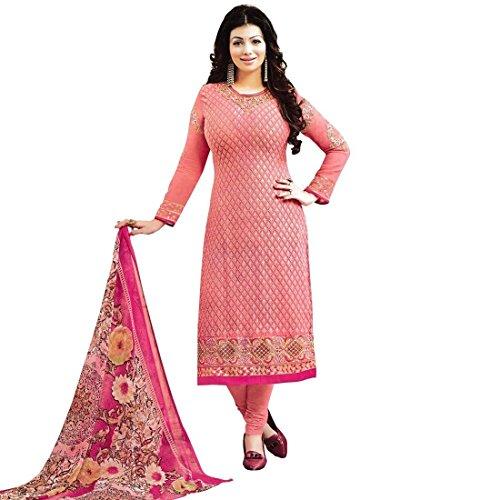 Designer-Wedding-Embroidered-Georgette-Salwar-Kameez-Suit-Indian-Dress