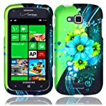 Samsung ATIV Odyssey i930 ( Verizon ) Phone Case Accessory Admirable Flower Hard Snap On Cover with Free Gift Aplus Pouch