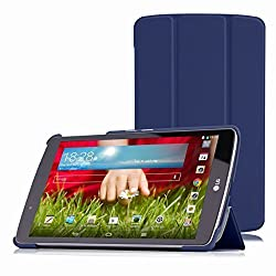 MoKo LG G Pad F 8.0 / G Pad II 8.0 Case, Ultra Slim Lightweight Smart-shell Stand Cover [Fit 4G LTE AT&T Model V495 / T-Mobile V496 / US Cellular UK495] & [G Pad 2 8.0 V498] 8
