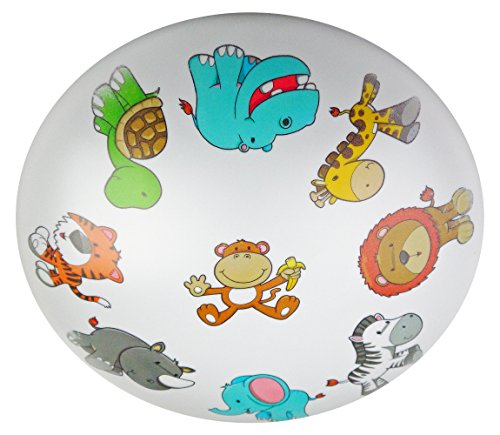 Niermann Standby Ceiling Lamp Plastic, Wild Animals
