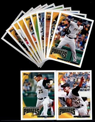 2010 Topps Baseball Cards Complete TEAM SET: Pittsburgh Pirates (Series 1 & 2) 20 Cards including Pearce, Milledge, Duke, Jones, McCutchen, Walker, Diaz & more!