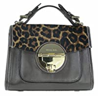 MICHAEL Michael Kors Margo Medium Satchel MOH Leopard [Apparel] Only For $348.00