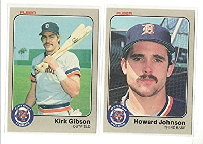 1983 FLEER - DETROIT TIGERS Team Set