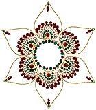 Gunjaan Creation Acrylic Rangoli (27 cm x 27 cm)