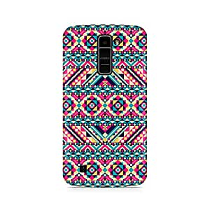 Mobicture Premium Printed Back Case Cover With Full protection For LG K10