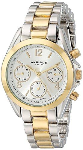 Akribos XXIV Women's Two-Tone Watch