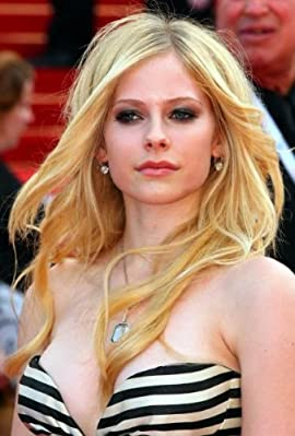 Avril Lavigne Poster Stripe Bustier