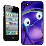 Fancy A Snuggle 'Glowing Bright Large Spooky Eyes in Haunted forest' Clip On Back Cover Hard Case for Apple iPhone 4/4S