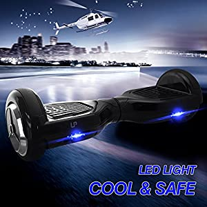 Lp Two Wheels Smart Self Balancing Drifting Scooter Board Electronic Mini Unicyle Transporter with LED Light