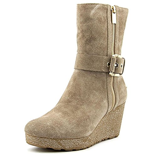 Michael Michael Kors Lizzie Wedge Bootie Donna US 10 Marrone