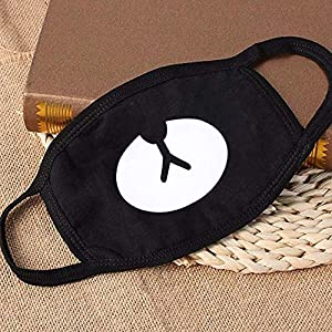 Dust Mask Mask Face Reusable & Washable Adjustable Ear Straps for Kids Men Women (General, Black) (Color: Black, Tamaño: General)