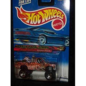 Attack Pack Series 1 Nissan Truck 2000-21 Collectible Collector Car Mattel Hot Wheels 1:64 Scale