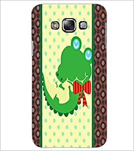 PrintDhaba Cartoon D-3364 Back Case Cover for SAMSUNG GALAXY E7 (Multi-Coloured)