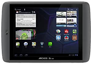 Archos 502041 Gen 9 8 inch Tablet (1.5Ghz ARM processor, 1GB RAM, 250GB Hardrive, Android 3.2 Honeycomb (upgradeable to Android 4.0 Ice Cream Sandwich