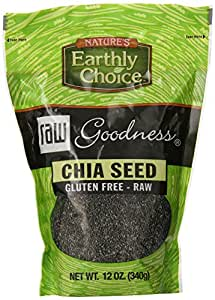 Ruth's Raw Goodness Chia Seed, 12 Ounce