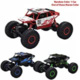 Rock Crawlers 2.4G 4CH 4WD RC Car 4x4 Driving Car 1:18 Scale Drive Bigfoot Car Remote Control Car Model Off-Road...