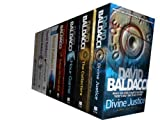 David Baldacci collection 8 Books set. (Divine Justice, the collectors, hour game, deliver us from evil, the camel club, saving faith, the winner and last man standing)