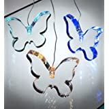 Battery Operated - Colour Changing Mobile Butterflies - Nursery Light - Fairy Light - Sensory Lightby Party String Lights