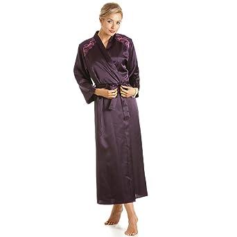 8c578824db4 Camille - Peignoir de bain en satin - femme - violet - taille 38 Ã 52  42 44  Check price!