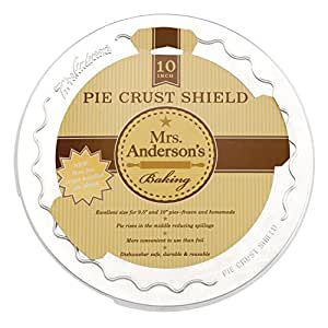 Mrs. Anderson's Baking Pie Crust Shield, 10-Inch
