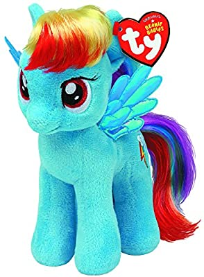 TY Beanie Baby – My Little Pony Soft Toy – Rainbow ty90211