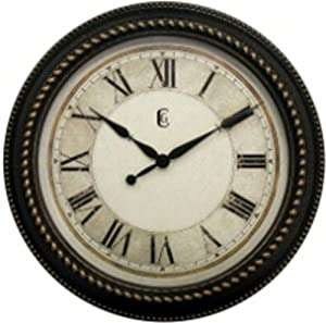 Amazon Com Geneva Clock Plastic Wall Clock 16 Inch Home