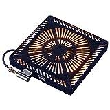 メトロ(METRO) こたつ用取替えヒーター U字型ハロゲンヒーター 手元温度コントロール式 MHU-601E(K)