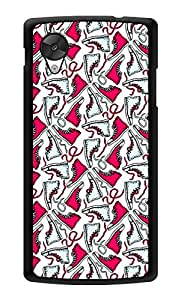 "Humor Gang Converse My Life - Pink Printed Designer Mobile Back Cover For ""Lg Google Nexus 5"" (2D, Glossy, Premium Quality, Protective Snap On Slim Hard Phone Case, Multi Color)"