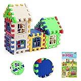 積み木 知育玩具 カラフル 立体パズル パズルボックス カラー形状認識玩具 by SkySea