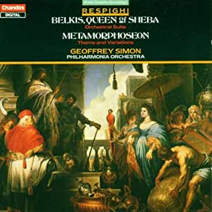 Belkis, Queen of Sheba / Metamorphosen