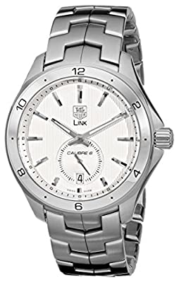 TAG Heuer Men's WAT2111.BA0950 Link Silver Dial Watch