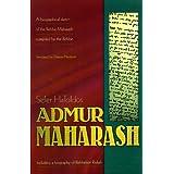 Sefer HaToldos Admur Maharash