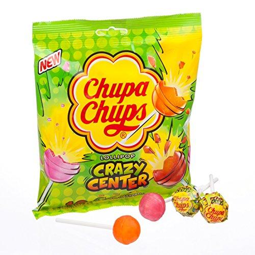 Chupa Chups Lollipop Crazy Center - 120 gr