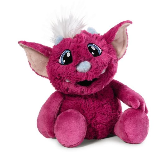 Nici 37527 - Electronics Crazy Mics sprechendes Monster Yo Schlenker, 35 cm, pink